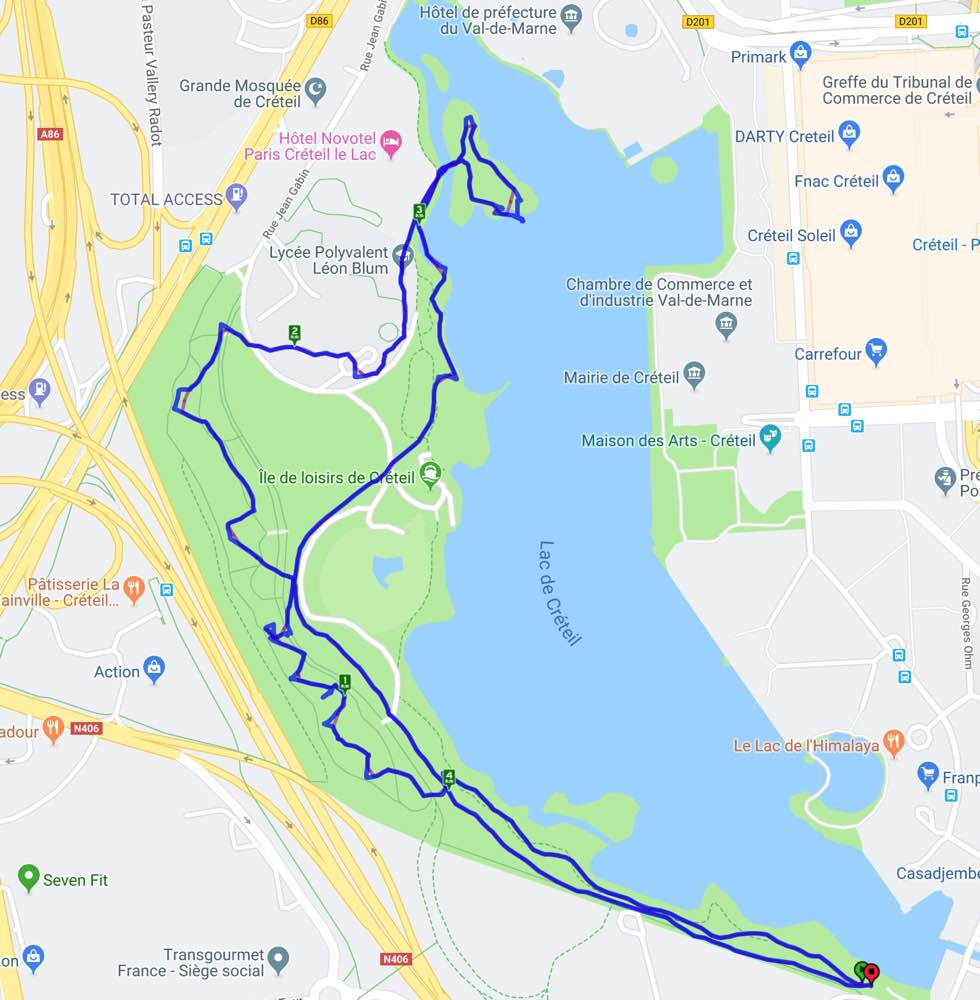 Marche nordique du 12 juin 2019 - Créteil