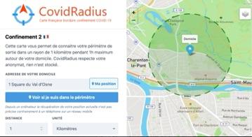 CovidRadius